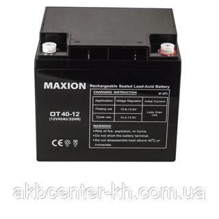 Промышленный Аккумулятор UPS MAXION 12-40 (12V,40Ah)