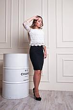 "Женская юбка ""Кейт"" размеры 42-48, фото 3"