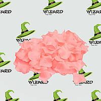 Лепестки роз (уп. 120шт) персиковые