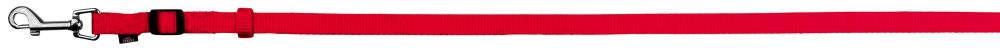 Поводок для собак нейлон Trixie Classic XS-S 1,2-1,8 м 15 мм Красный регулируемый