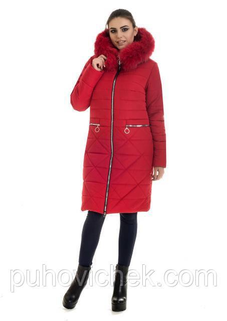 Молодежные куртки и пуховики женские с натуральным мехом