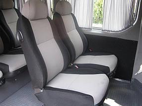 Перетяжка автомобильного сиденья тканью