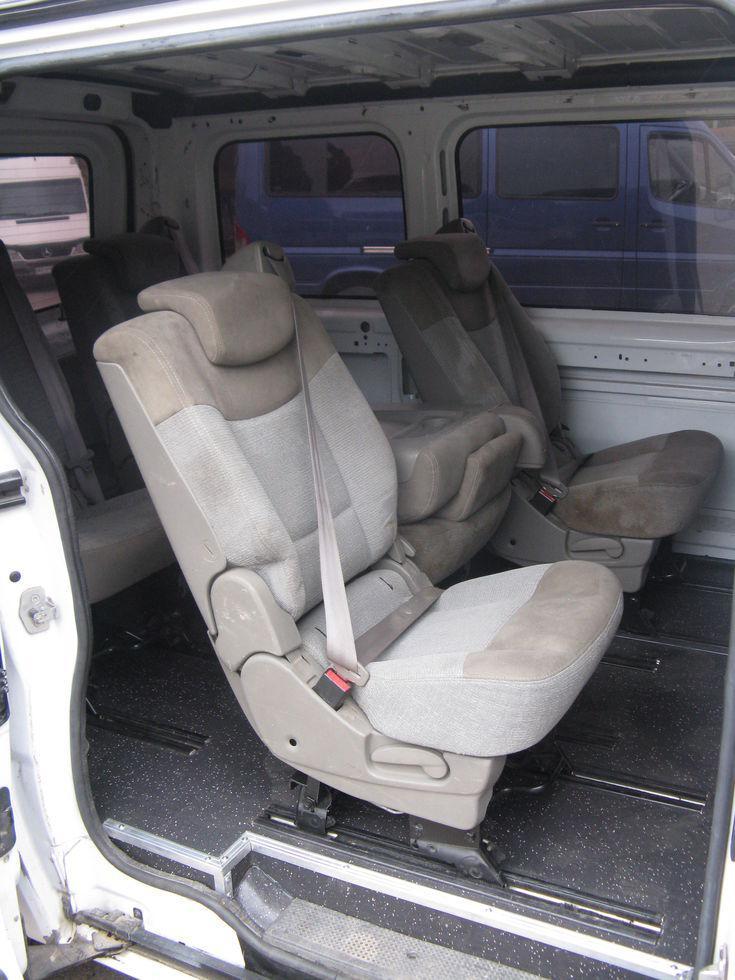 Разварка (поднятие) сидений трансформеров из автомобиля Renault Espace IV (Рено Эспейс) IV