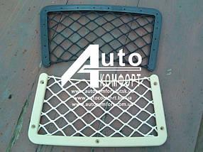 Сетка квадратная на спинку автомобильного сиденья