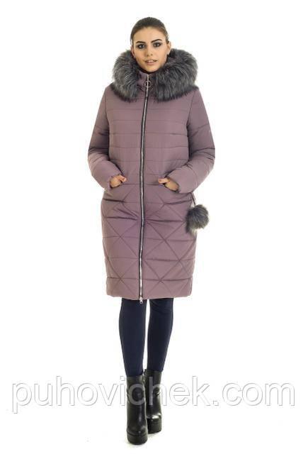 Теплая зимняя куртка женская молодежная Украина новинки 42. 44. 46.