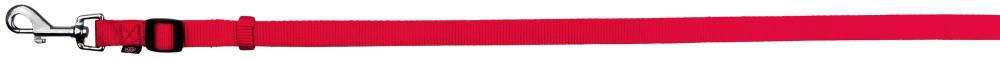 Поводок для собак нейлон Trixie Classic M-L 1,2-1,8 м 20 мм Красный регулируемый