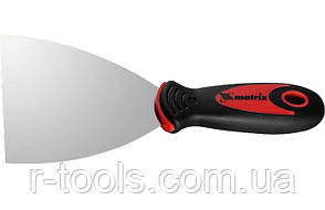 Шпательная лопатка из нержавеющей стали  80 мм  2-комп  ручка MTX 855089
