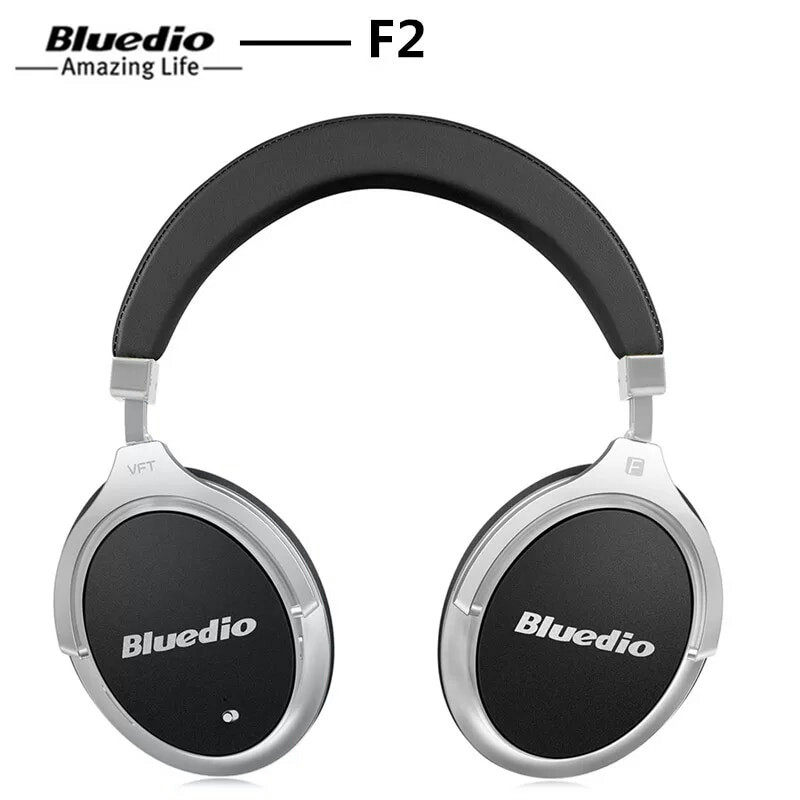 Бездротові навушники (гарнітура) Bluedio F2 Black