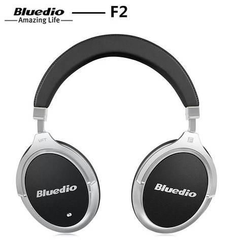Бездротові навушники (гарнітура) Bluedio F2 Black, фото 2
