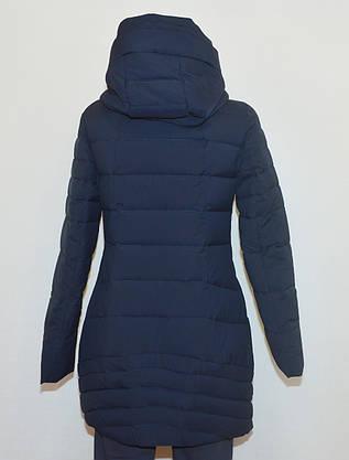 Зимова жіноча куртка приталена YUBEIZI 9080 S/XXL, фото 2