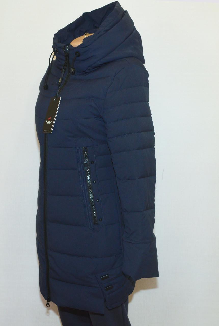Зимова жіноча куртка приталена YUBEIZI 9080 S/XXL