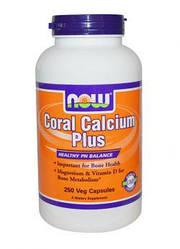 NOW_Coral Calcium Plus Mag, D - 100 веган кап