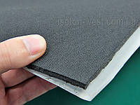 Вибро-шумка 2в1 ламинированная тканью ТИ6-Ф2.0 (700х500 мм) - вибро и шумоизоляция в одном листе