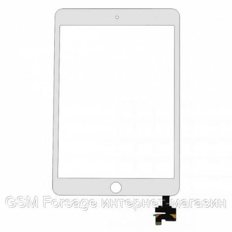 Тачскрин iPad mini 3 White complete with connector Original