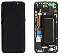 Дисплей Samsung Galaxy S8 G950 Original complete with frame  Black 100%
