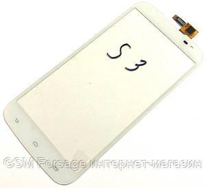 Тачскрин Gigabyte GSmart Saga S3 White