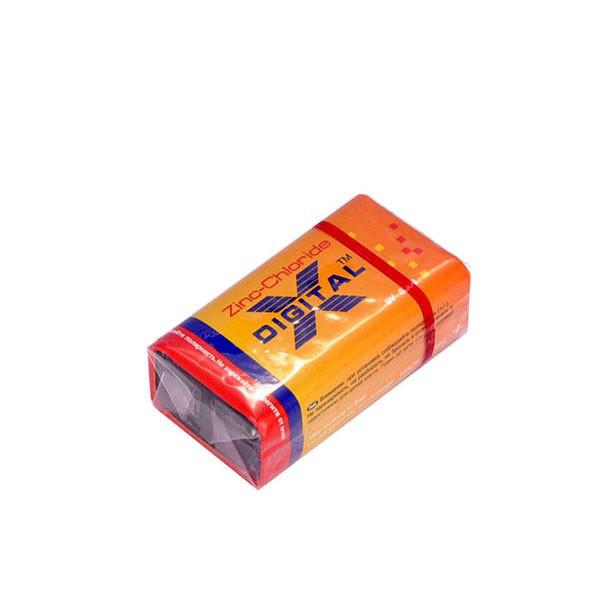 Батарейка солевая X-digital 6F22 (крона)