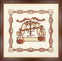 Набор для вышивки крестом Золотое Руно Г-010 «Весы»