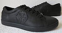 Philipp Plein мужские кожаные туфли кеды слипоны Филипп Плэйн обувь