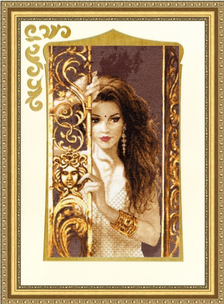 Набор для вышивки крестом Золотое Руно ГТ-040 «Жасмин»