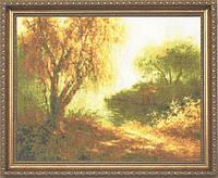 Набор для вышивки крестом Золотое Руно ЛП-009 «Осеннее утро»
