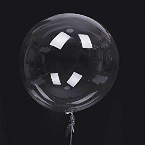 """Воздушный Шар DECO bubble 32"""" (81 см), Прозрачный"""