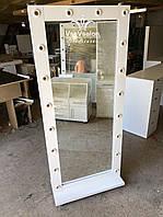 Зеркало в пол, зеркало на колесах. 1800*800мм. Модель V271, фото 1