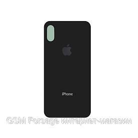 Крышка задняя iPhone X  Black