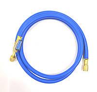 Заправочный шланг с краном VALUE R 22- 0.9м (1/4 - 1/4 SAE) для кондиционеров