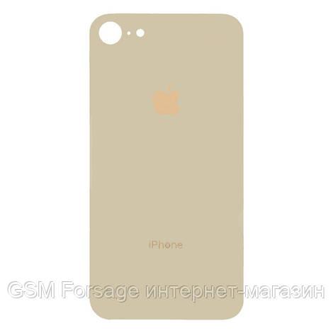 Крышка задняя iPhone 8  (4,7'') Gold