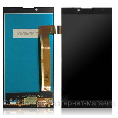 Шлейф iPhone 5C центральная кнопка Home Complete Black