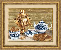 Набір для вишивки хрестом Золоте Руно СЖ-027 «Російський самовар»