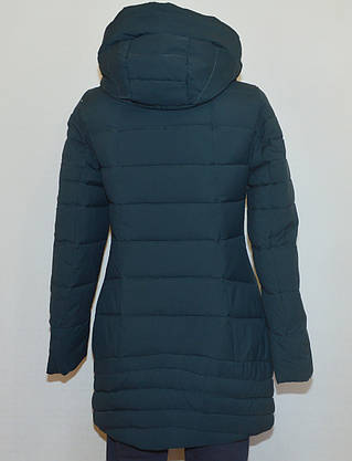 Куртка зимняя приталенная YUBEIZI 9080 (XL), фото 2