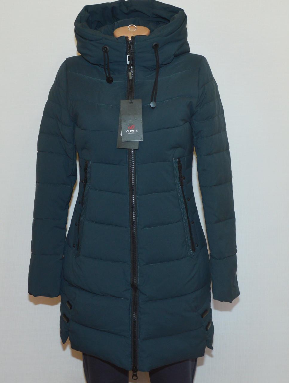 Куртка зимняя приталенная YUBEIZI 9080 (XL)