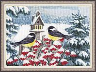 Набор для вышивки крестом Золотое Руно РС-020 «Уютное гнёздышко»