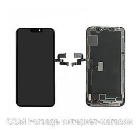 """Дисплей iPhone X  (5,8"""")  black Original 100% (снятый с телефона)"""