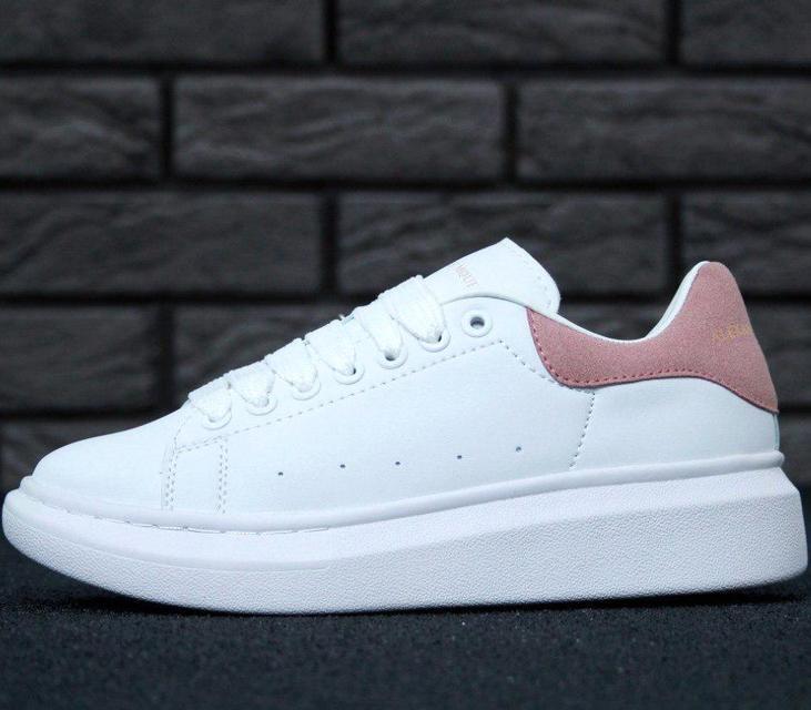 Кроссовки женские в стиле Alexander McQueen Oversized Sneakers, александр маккуин