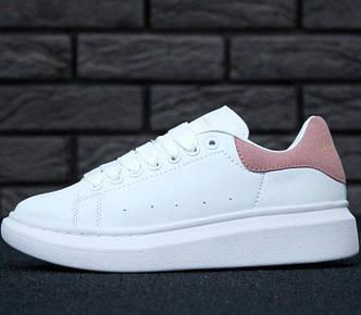 Кроссовки женские Alexander McQueen Oversized Sneakers, александр маккуин, реплика
