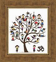 Набір для вишивки хрестом Золоте Руно ЛЖ-005 «Урок йоги»