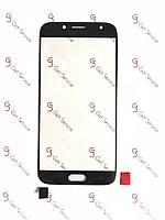 Стекло корпуса для Samsung Galaxy J7 2017 J730 Black, фото 1
