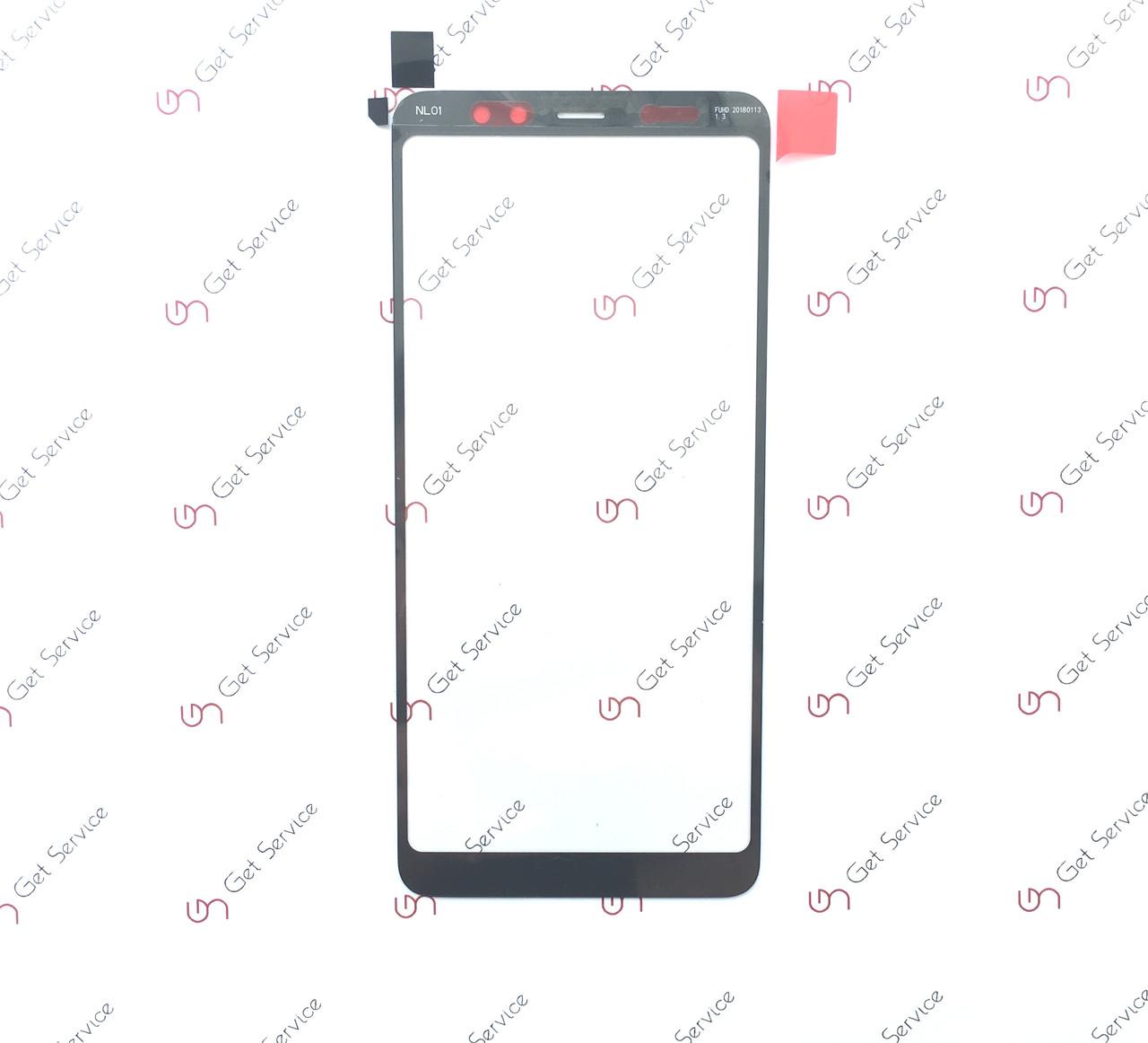 Стекло корпуса для Samsung Galaxy A8+ 2018 A730 Black