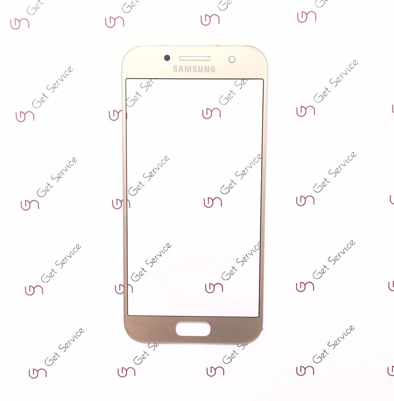 Стекло корпуса для Samsung Galaxy A3 2017 A320 Gold