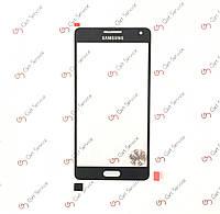 Стекло корпуса для Samsung Galaxy A5 A500 Black