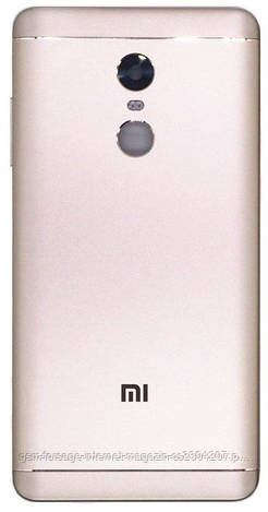 Задняя часть корпуса Xiaomi Redmi Note 4x Gold