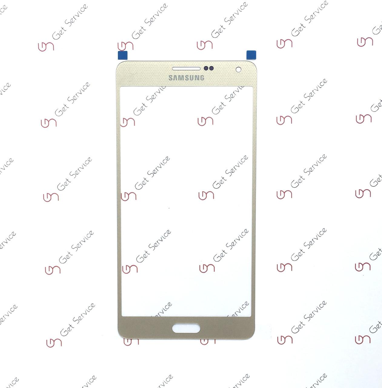 Стекло корпуса для Samsung Galaxy A7 A700 Gold
