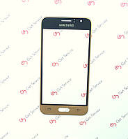 Стекло корпуса для Samsung Galaxy J1 2016 J120 Gold