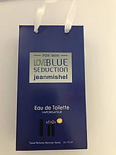 Мини парфюмерия jeanmishel Lovе Blue Seduction3*15ml опт