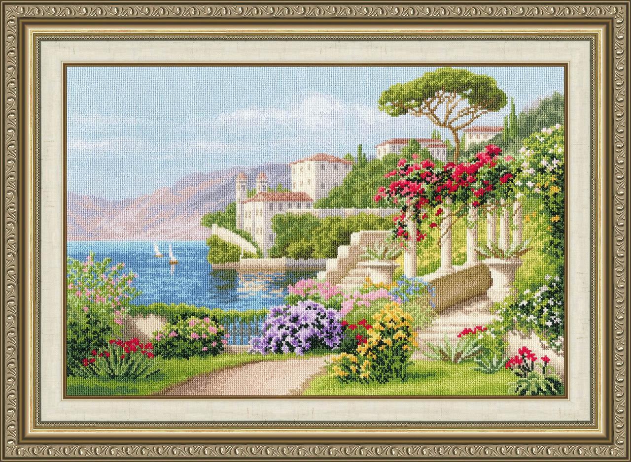 Набор для вышивки крестом Золотое Руно ДЛ-034 «Цветущая Италия»
