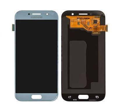Дисплейный модуль Samsung Galaxy A5 2017 A520 с сенсором Голубой/Blue GH97-19733C