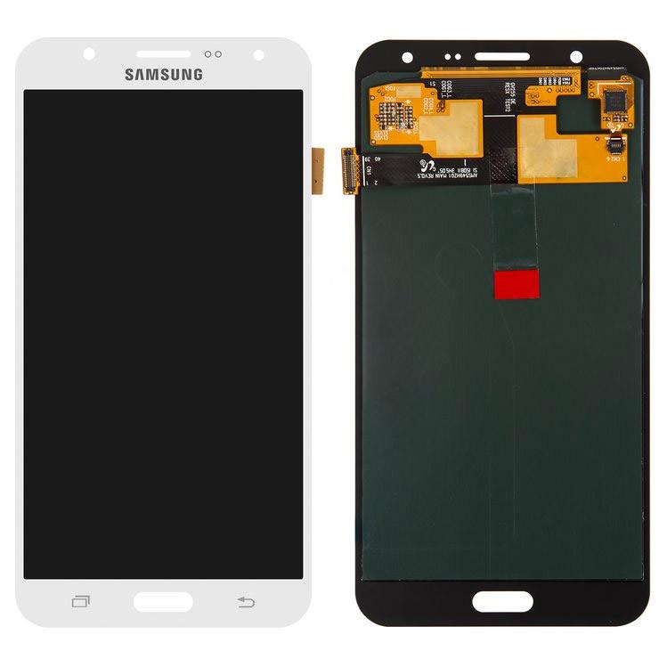 Дисплейный модуль Samsung Galaxy J7 J700 с сенсором Белый/White GH97-17670A
